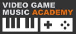 video game music academy logo